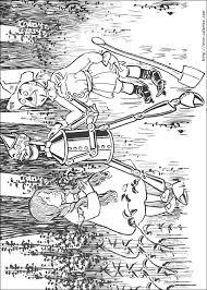 coloriage coloriage de l u0027histoire du bûcheron de fer