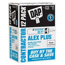 dap alex 10 1 oz painter u0027s all purpose acrylic latex caulk 12