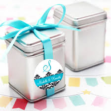 wedding favor containers mini square silver favor tins 10 pcs favor tins favor