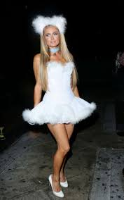 jenny mccarthy halloween party paris hilton at halloween party at 1oak in west hollywood