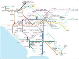 Los Angeles Area Map by Fake La Transit An Even Crazier Dream Than One For The Bay Area