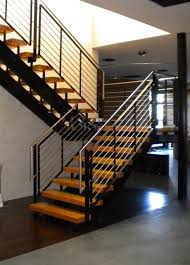 Banister Staircase Stainless Steel Stair Railing Home Design Styles