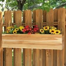 Wooden Window Flower Boxes - wood window boxes you u0027ll love wayfair