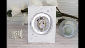 interactive ornament spinner card