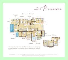Mexican House Floor Plans Four Seasons Private Villas Punta Mita Luxury Real Estate
