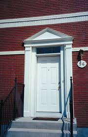 Exterior Door Pediment And Pilasters Pediments And Transforming Entryway With Entrance Pediments