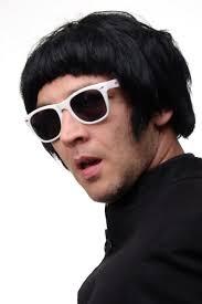 brit pop hair style me up party fancy dress halloween wig popstar mod britpop 60ies