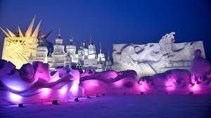 harbin snow and ice festival 2017 stunning drone footage from the harbin ice u0026amp snow sculpture