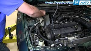 How To Install Replace Upper Engine Mount 1998 03 Ford Escort Zx2
