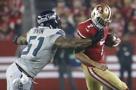 sherman with two picks as seahawks trounce 49ers ny daily news