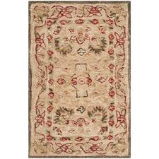 Brown And Beige Area Rug Safavieh Anatolia Brown Area Rug U0026 Reviews Wayfair
