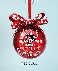 best friend ornament best friend gift idea