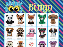 beanie boo checklist instant download 8 10 5
