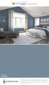 1487368230 blue white bedroom 0916 bedrooms with blue walls