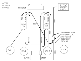 motorcycle dual coil wiring diagram diagram wiring diagrams for