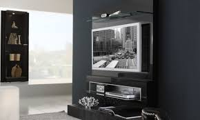 Interior Design Tv Wall Mounting by Wall Tv Cabinet Simple Tv Cabinet Glass Shelf White Paint Modern