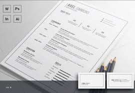 minimalistic resume psd settings content flash player download 35 free creative resume cv templates xdesigns
