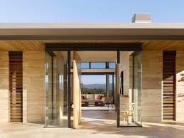 modern house entrance designs entry modern with patio columns