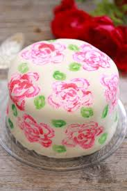 celery stamp rose painted cake gemma u0027s bigger bolder baking