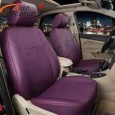 housse siege de voiture personnalisé autodecorun ajustement personnalisé cuir housse de siège pour toyota