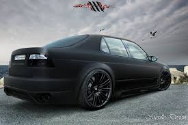 kind of digging the matte black paint on a car very interesting