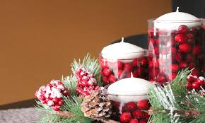 Simple Table Decorations by Table Decor For Christmas Bibliafull Com