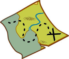 treasure map clipart treasure map clip free vector in open office drawing svg
