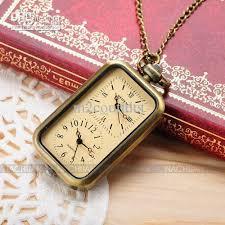 ladies necklace watch images Ladies quartz pocket watch pendant necklace womens dual time jpg