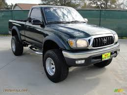 prerunner truck for sale 2001 toyota tacoma prerunner regular cab in imperial jade green