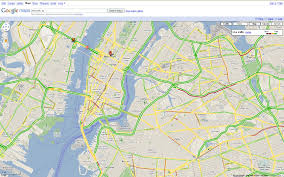 map of new york ny maps your commute takes to the side streets