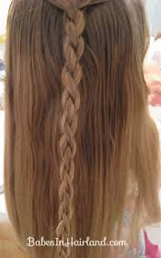 cornrows and a 4 strand braid in hairland