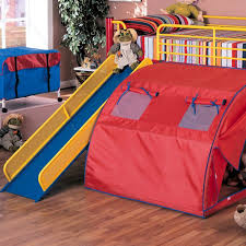 Bunk Bed With Slide And Tent 10 Of The Most Beds With Slides Lofts Bunk Bed And