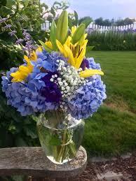 Hydrangea Centerpiece Summer Hydrangea Centerpiece Tastefully Grace