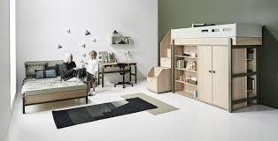 chambre bebe design scandinave flexa popsicle lit chambre enfant meubles en bois flexa bruxelles