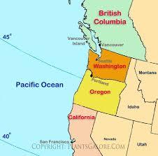 map us states regions map of northwest us types map of united states pacific northwest
