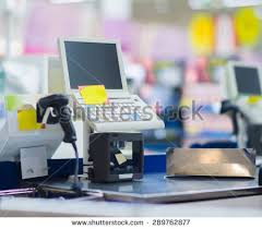 Supermarket Cash Desk Stock Images Similar To Id 43748086 Woman U0027s Hand On Cash Register