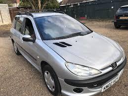 peugeot 206 sw xt 1360cc petrol 5 speed manual 5 door estate 02