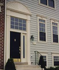 Exterior Door Pediment And Pilasters And Transforming Entryway With Entrance Pediments