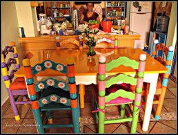 mexican dining table set furniture winsome mexican style dining room tables modern