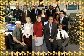 the best of dwight pam michael and jim on christmas time for