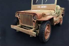 jeep us army jeep vehicle us army version desert diorama