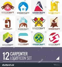 carpenter home builder logo vector set stock vector 632611211