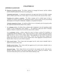chapter 10 strayer acc 401 bankruptcy debits and credits