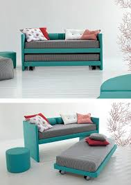 Build A Bunk Bed With Trundle by Best 25 Trundle Beds Ideas On Pinterest Girls Trundle Bed