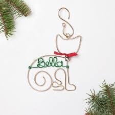 personalized ornaments foxblossom co