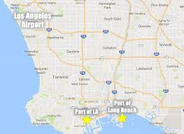 Car Rentals At Port Of Miami Lax To The Los Angeles U0026 Long Beach Cruise Port Without A Car
