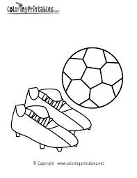 soccer ball coloring page a free sports coloring printable