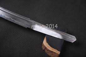 folded steel kitchen knives sharp blade folded steel clay tempered for japanese