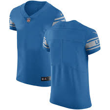 nike lions blank blue team color men s stitched nfl vapor