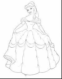 astounding disney princess belle coloring pages princess